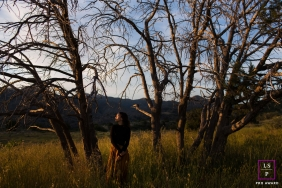 Arizona United States Lifestyle Teen Portrait Photography in | Image contains: trees, grass, senior, pose, color