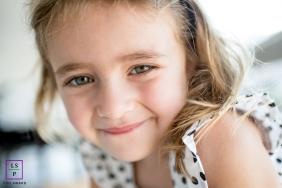 Family Photographer in Rio de Janeiro Brazil | Lifestyle Image contains: girl, portrait, close-up, smile
