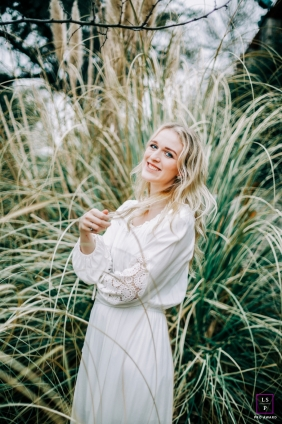 Teen Photography for Nashville Tennessee - Lifestyle Portrait contains: woman, grasses, nature