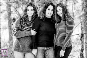 Family Portraits in Coeur d'Alene Idaho | Lifestyle Photography Session contains: trees, black, white, females, outdoors, smiling