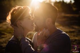 Couple Photography for Arizona - Lifestyle Portrait: Flagstaff Arizona engagement photographer