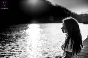 Teen Photographer in France   Lifestyle Image: Learning to love herself