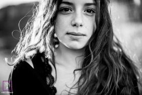 Teen Photography for Bourgogne-Franche-Comte - Lifestyle black & white portrait