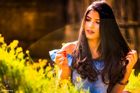 Teen Portraits in Minas Gerais   Brazil Lifestyle Photography Session contains: female, nature, portrait, outdoors