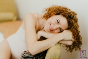 Juralifestyle portraits at home - Bourgogne-Franche-Comte Beauty mama