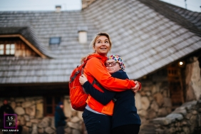 Warsaw lifestyle photographer captured a loving portrait of a mother and child.