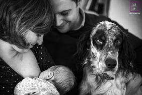 Family session with their dog | Auvergne-Rhone-Alpes