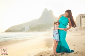 Rio de Janeiro Brazil lifestyle photo | gonna be a big sister and she's so happy