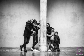 Lifestyle Family session in old Lyon