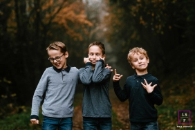Young boys lifestyle portrait session | Dumb things, funny faces