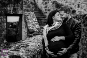 lifestyle maternity portrait, Vallée de la Chevreuse, France