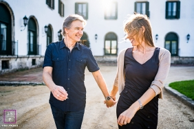 French lifestyle Love session in Spain