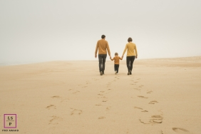 Nouvelle-Aquitaine lifestyle family shoot at the beach - that day, that particular light