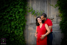 Lyon lifestyle couple pregnancy picture session in Auvergne-Rhone-Alpes
