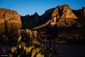 Arizona outdoor lifestyle teen portrait session in the hills
