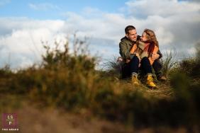 Couple Portrait loveshoot in the Dutch Dunes