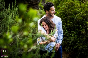 Perpignan Creative Lifestyle Portrait image with some Leaf love in the Foliage