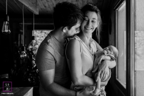 Artistic Besancon Lifestyle Photography of a baby and a new life for 3