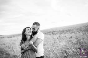 Artistic Bourgogne-Franche-Comte Lifestyle Photography of lovers in the open grass field