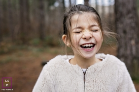 Bourgogne-Franche-Comte Creative Lifestyle Portrait image of a girl laughing