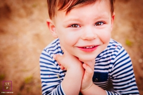 France young boy poses for a Lifestyle Portrait Session