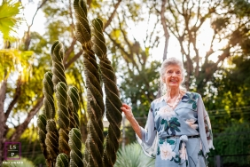 Parana woman poses for a Lifestyle Portrait Session as she is celebrating 80 summers