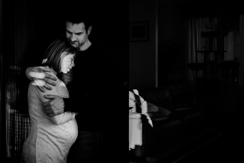 Maternity Portrait, Pyrénées Orientales, France | Lifestyle Photographer