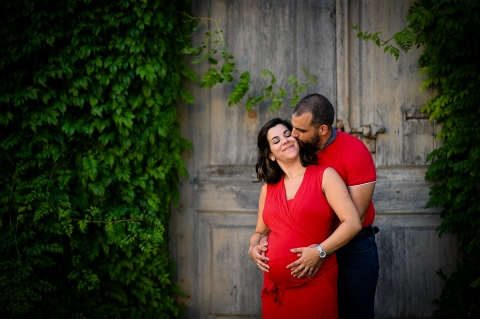 Lyon lifestyle couple pregnancy picture session in Auvergne-Rhone-Alpes