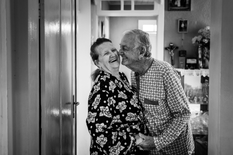 Santa Catarina Creative Lifestyle Couple Portrait image - Laughing with the ones we love is fantastic