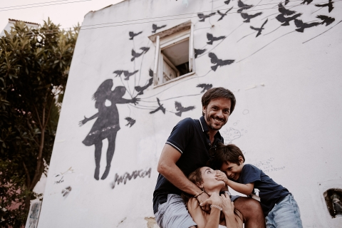 Leiria Creative Lifestyle Portrait image with some Family playing time