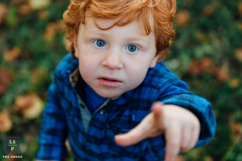 Auvergne-Rhone-Alpes Lifestyle Portrait Photography France | Image contains: boy, point, close-up, nature, session