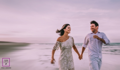 Ceara Lifestyle Couple Portrait Session | Brazil engagement photography at the beach