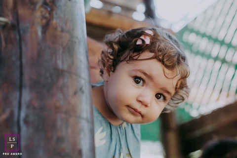 Rio de Janeiro Brazil Lifestyle Baby Portraits | Image contains: toddler, girl, session, baby photography