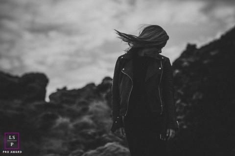 Teen Photographer in Bourgogne-Franche-Comte   Lifestyle Image: Wild girl solo senior portrait