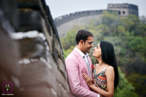 Beijing couple portraits - China Great wall engagement shooting - lifestyle photography