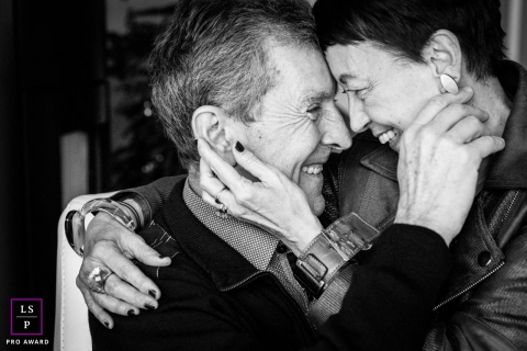 Love has no age, a couple who still love each other so much. | France lifestyle photography
