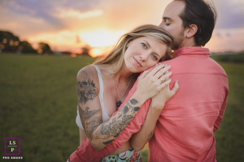 a couple in surprise marriage proposal | couple lifestyle photography
