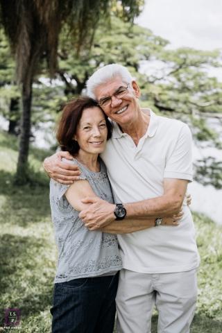 Macae, Rio de Janeiro couple during a lifestyle portrait session