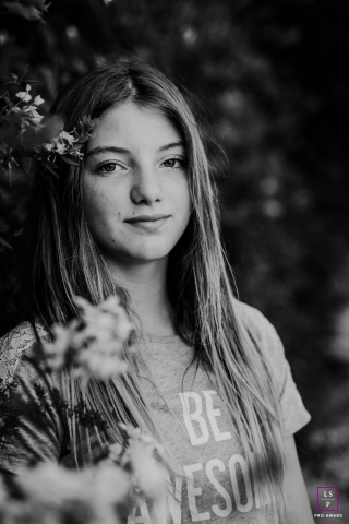Lifestyle Teen Portrait in Garraf, Spain