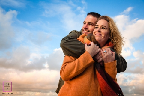 Amsterdam Noord Holland Love is in the air loveshoot with young couple