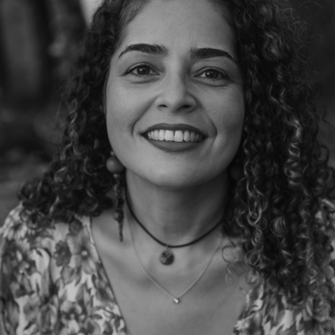 Portrait of Rio de Janeiro lifestyle photographer Cristiane Baptista of Brazil