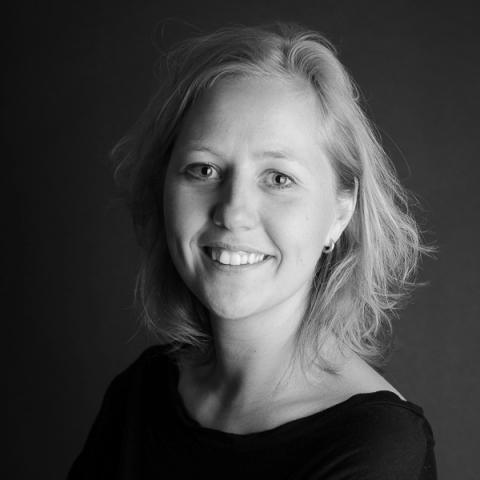 Studio portrait of Amsterdam lifestyle photographer Martine van der Voort of Noord Holland, Netherlands