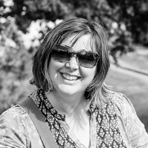 Portrait of Northern Ireland family lifestyle photographer Melanie Hudson of the United Kingdom