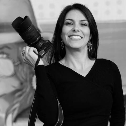 Outdoor portrait of Petropolis lifestyle photographer Agatha Rezende of Rio de Janeiro Brazil
